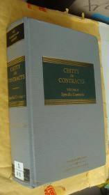 CHITTY ON CONTRACTS (Volumes 2,Specific Contracts) 英文原版 16K革面精装 优质圣经纸印制 较重