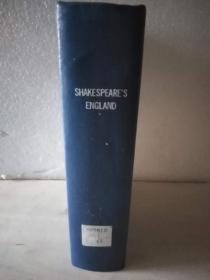 Shakespeare's England: an Account of the Life and Manners of His Age 莎士比亚时代的英格兰(第一卷)