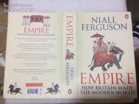 现货 Empire: How Britain Made the Modern World   英文原版 帝国  尼尔·弗格森 (Niall Ferguson)大英帝国的崛起