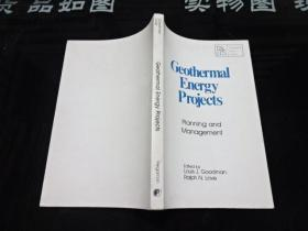 geothermal energy Projects planning and management  品如图        货号50-4