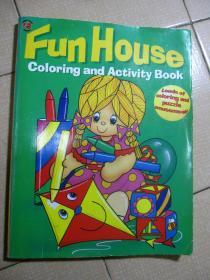 Fun House Coloring and Activity Book