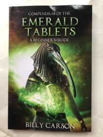 COMPENDIUM OF THE EMERALD TABLETS A BEGINNER`S GUIDE(翡翠石板简编入门指南)书内作者签名