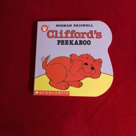 Clifford's Peekaboo   Board book  克里弗躲猫猫