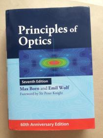 北京现货 Principles of Optics: 60th Anniversary Edition  英文原版 光学原理 60周年版 (德)Max Born(马科斯.玻恩)