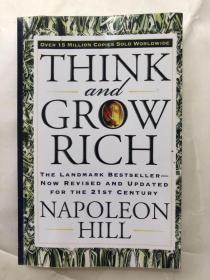Think and Grow Rich:The Landmark Bestseller--Now Revised and Updated for the 21st Century(书内多页写字划线)