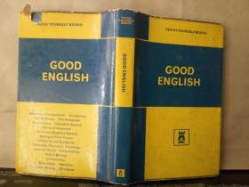 TEACH YOURSELF GOOD ENGLISH(英文原版)