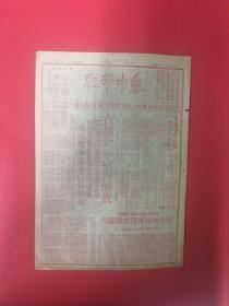 民國38年(魯中南報)8開4版,2月4號—-紅印,古都北平宣告解放,解放南京外圍,