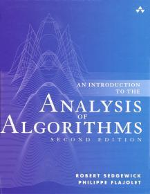 预订2周到货 An Introduction to the Analysis of Algorithms   英文原版 算法分析导论   Robert Sedgewick 罗伯特 塞奇威克