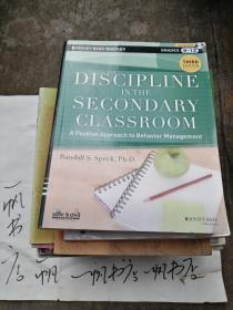 DISCIPINE IN THE SECONDARY  CLASSROOM (带碟)