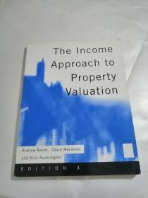 The Income Approach to Property Valuation(房地产估价的收益法)