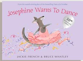 畫家Bruce Whatley繪本Josephine Wants To Dance,