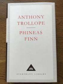 Phineas Finn 菲尼亚斯·芬恩 Anthony Trollope 安东尼·特罗洛普 Everyman's Library 人人文库