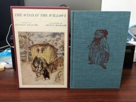 《The Wind In The Willow(柳林风声)》Heritage Press 布面精装带函套