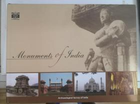 monuments of india 印度古迹  archaeological survey of india