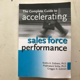 sales force performance