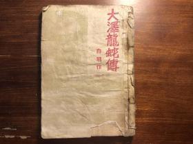 小說 大澤龍蛇傅 一冊全