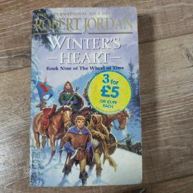 时光之轮 the wheel of time winter's heart奇幻小说