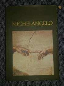 原版畫冊  Michelangelo