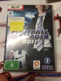 football manager 2011 DVD光盘