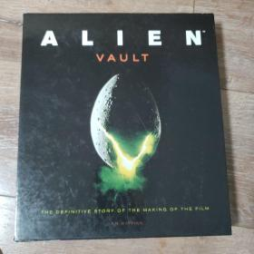 Alien Vault: The Definitive Story of the Making of the Film (16开,精装+盒套)异形 内附带很多电影解密文档