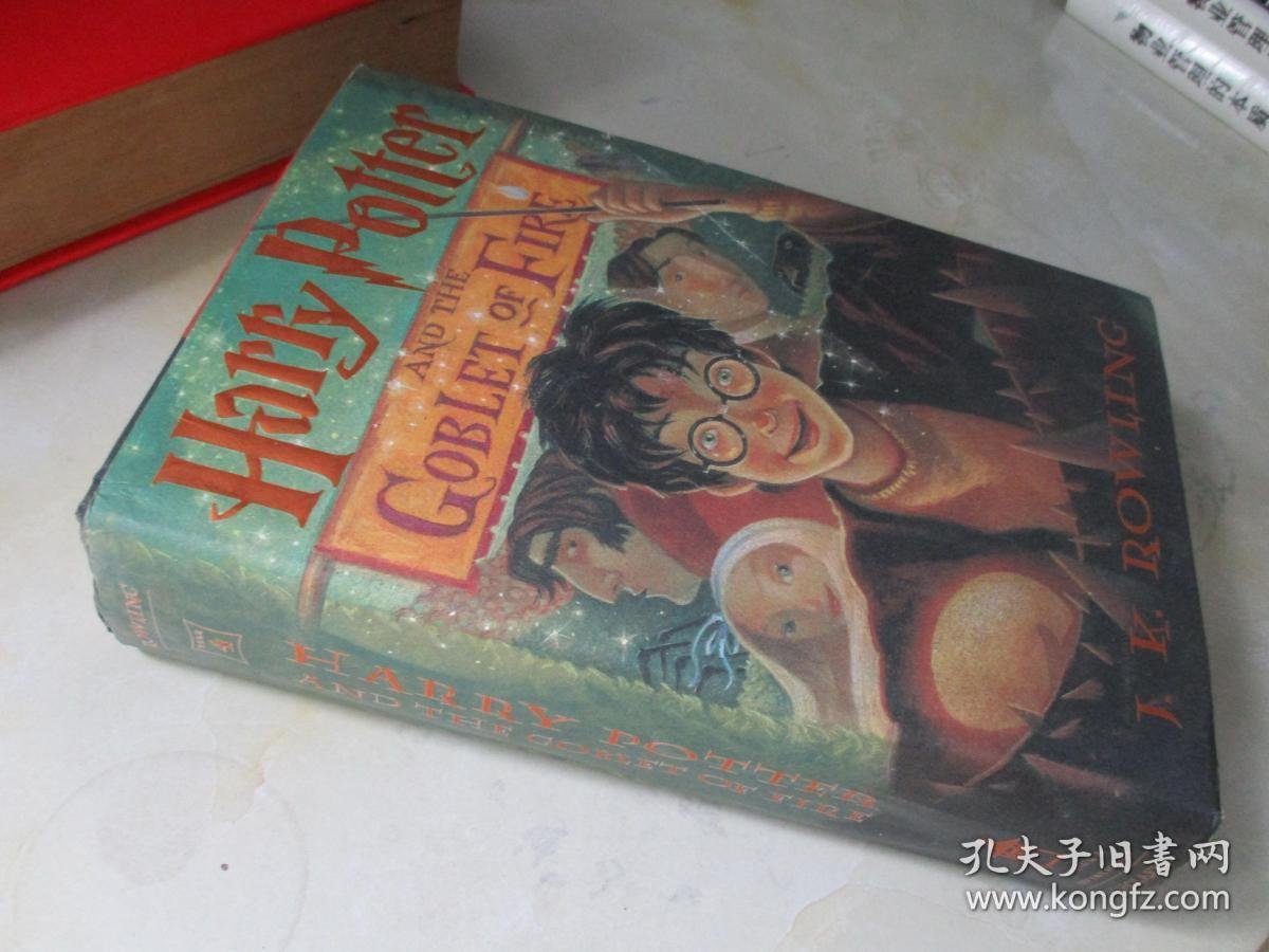 Harry Potter:Harry Potter and the Goblet of Fire【16开精装 英文原版】