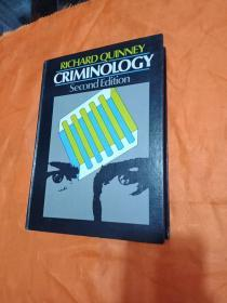RICHARD QUINNEY CRIMINOLOGY SECOND EDITION