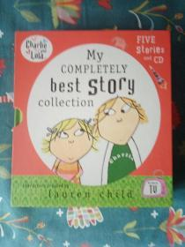 My Completely Best Story Collection. Lauren Child (Charlie & Lola) 5册 合售实物图