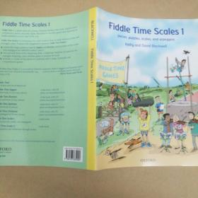 Fiddle Time Scales 1: Pieces, Puzzles, Scales, and Arpeggio小提琴时标1:棋子、拼图、音阶和琶音
