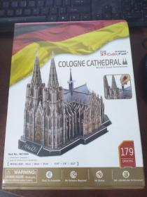 3D PUZZLE Cubic Fun COLOGNE CATHEDRAL