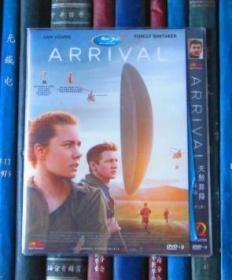 DVD-天煞異降 / 降臨 / 你一生的故事 / 異星入境 / 抵達 / 抵達者 Arrival / Story of Your Life(D9)