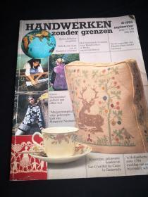 買滿就送  英文版刺繡編織手織刊物一本