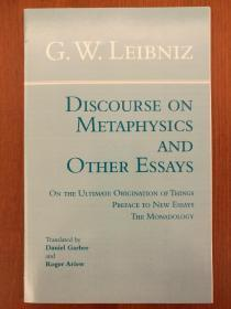 Discourse on Metaphysics and Other Essays(进口原版,国内现货)