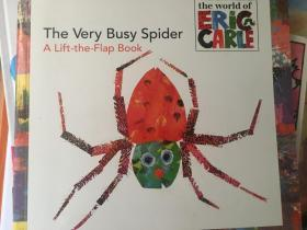 The Very Busy Spider: A Lift-the-Flap Book (The World of Eric Carle)非常忙的蜘蛛 英文原版