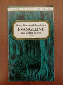 Evangeline and Other Poems (Dover Thrift Editions, unabridged)(简装书,再生纸印制)(进口原装正版)