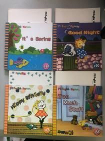 Mienglish for kids 美智幼兒英語 1B(4本合售)+卡片