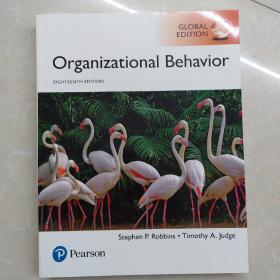 organizational behavior 17th Stephen  Judge 组织行为学正版书