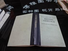 The Cambridge Illustrated Dictionary of BRITISH HERITAGE 英国传统插图词典   精装  52-6号柜