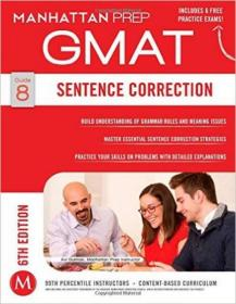 GMAT Sentence Correction:6th Edition  99成新