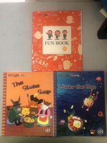 Mienglish for kids 美智幼兒英語  3B(3本合售)