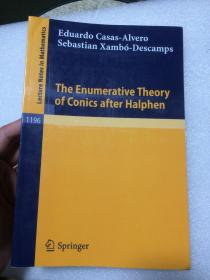 现货 The Enumerative Theory of Conics after Halphen: 1196 (Lecture Notes in Mathematics)  英文原版  Halphen之后的圆锥曲线的枚举理论