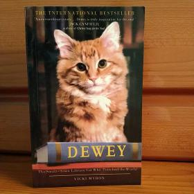 Dewey:The Small-town Library-cat Who Touched the World