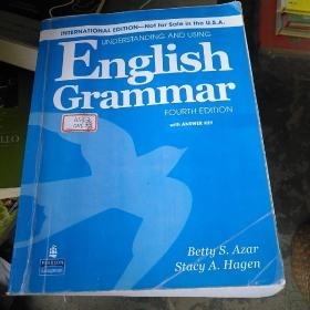 ()international edition not for sale in she u. s. a)English grammar fourth edition with answer key(正版)