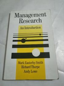 Management Research An lntroduction(管理学研究导论)书内有多页涂画