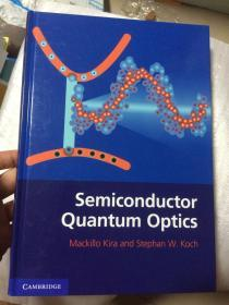 现货  Semiconductor Quantum Optics  英文原版  半导体量子光学