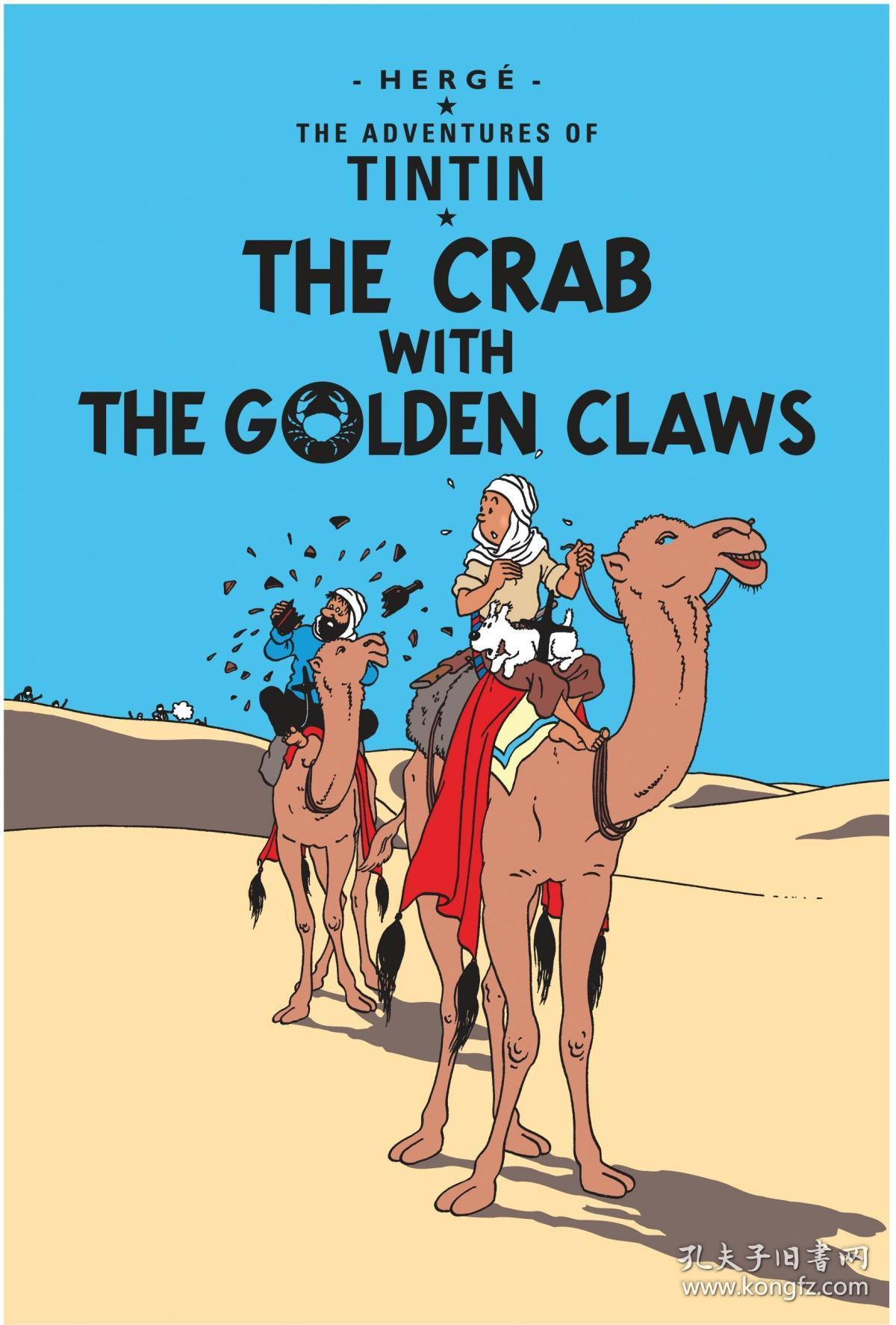 Adventures Of Tintin Crab With The Golden Claws丁丁历险记 蟹金爪