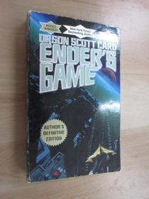 英文书  ORSON  SCOTT  CARD   ENDER  S  GAME  共324页
