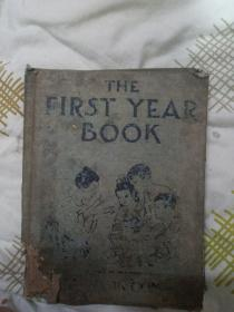 THE  FIRST  YEAR  BOOK (英国图书年鉴)