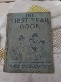 THE  FIRST  YEAR  BOOK  (第一年的书)