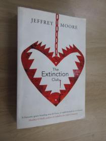 英文書  JEFFREY  MOORE  THE  EXTIN CTION  CLUB  共368頁