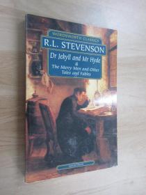 英文書  R L  STEVENSON  DR  JERYLL  AND  MR  HYDE  共232頁